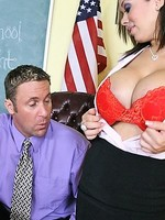sienna west fucks her sons teacher to keep him in school